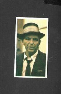 "MISTER SOFTEE 1963 SUPERB ( MUSIC LEGEND ) TYPE CARD """" FRANK SINATRA- TOP 20 """