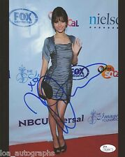 """Victoria Justice hand SIGNED 8x10"""" Photo #1 VICTORIOUS Nickelodeon JSA COA"""