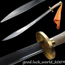 Chinese Longquan Wushu Sword Broadsword Match Dedicated Sword Manganese Steel