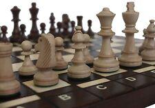 Schach Sehr schönes Schachspiel BUG 41 x 41 cm Holz