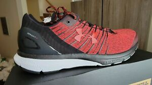 UNDER ARMOUR 'BANDIT 2 CHARGED ' MEN'S SHOES -BLACK & RED - SIZE 12 - VERY NICE!