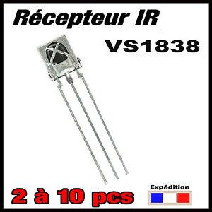 1571#  récepteur infrarouge IR VS1838  38khz projet arduino de 2 à 10pcs
