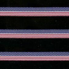 "5 yards 3/8"" AMERICAN FLAG GROSGRAIN RIBBON"