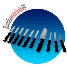 Ginsu 2000 Messerset Neu Messer SET aus Edelstahl 10 teilig Steakmesser.