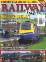 Railway Train Magazine Keighley Hst Chairty London Orbital Line '50s Livery 2013