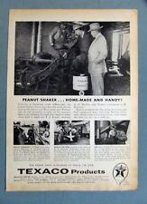 Original 1957 Texaco Non Celebrity Endorsement Ad A.D. HATTON of Dothan Ala