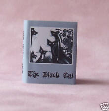 Dollshouse Miniature Book - The Black Cat