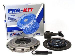 Exedy Pro Clutch Kit & Slave Cylinder Set 2000-2004 Ford Focus 2.0L DOHC ZX3 ZTS