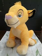 THE LION KING MOVIE SIMBA PLUSH 36cm STUFFED TOY DOLL FIGURE .