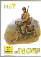 HAT WW2 Japanese Bicycle Infantry in 1/72 8278  ST