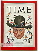 November 27 1950 Hopalong Cassidy TIME MAGAZINE Photo Feature TV Movie Cowboy