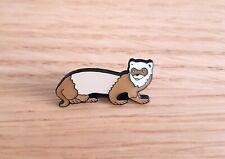 More details for 100 ferret / polecat enamel pin badges