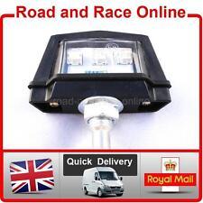 Motorcycle License Plate Light LED Number Plate Light Multi Use 12v Universal