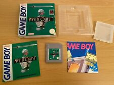 Nintendo Game Boy - Mystic Quest - Rare - Boxed - Good Condition - UK/PAL