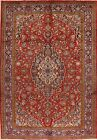 Hand-Knotted VINTAGE Floral Ardakan Area Rug Dining Room Oriental Carpet 7'x10'