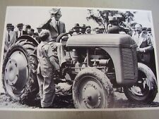 Ford Tractor 9N With Henry Ford 12 X 18 Photo Picture