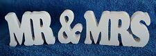 MR & MRS SEGNO DI PLACCA IN LEGNO// Regalo Di Nozze lettere di grandi dimensioni in legno