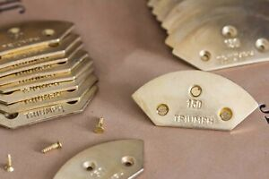 Triumph Flush Metal Toe Taps for Proper Quality Mens Dress Shoes Made in Germany