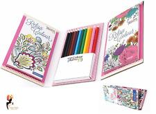 Children Travel Colour Your Own Magnets with 6 Fibre Pens Kids Craft Activity