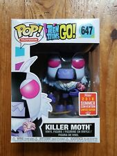 FUNKO POP TEEN TITANS  GO SERIES KILLER MOTH 2018 SUMMER CONVENTION EXCLUSIVE LE