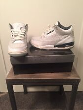 2006 Air Jordan 3 Retro White Flip Size 9.5
