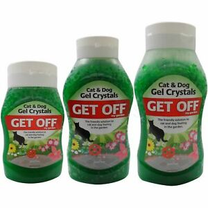 Get Off Cat and Dog Repellent Crystals Lawn Pest Garden Fouling
