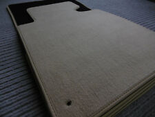 $$$ Original Lengenfelder Fußmatten passend für BMW E46 3er Cabrio + BEIGE + NEU