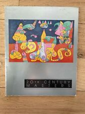 1992 20th Century Masters - Catalog from Park West -Picasso, Chagall, Miro, Dali