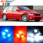 10 x Premium Xenon White LED Lights Interior Package Kit for Lexus IS300