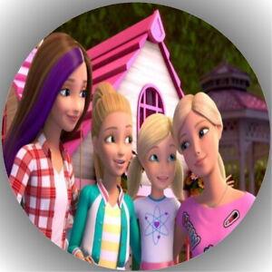 Tortenaufleger Geburtstag Tortenbild Fondant Barbie L19