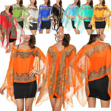 Unbranded Kimono Sleeve Floral Tops & Blouses for Women