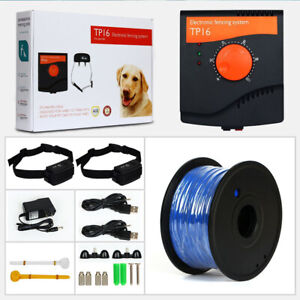 TP16 Pet Dog Electric Fence Waterproof Training Electric shock Dog Collars