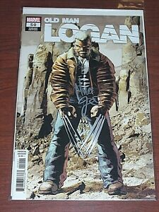 Old Man Logan #50! (2016) Rare Variant! Signed by VCA Mike Deodato Jr.! NM! COA!