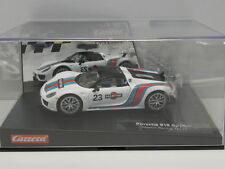 Carrera 27467 Evolution Slot Car Porsche 918 Spyder Martini Racing No.23  M.1:32