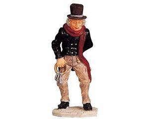 Lemax Decoration 'Scrooge',Christmas Cake Decorating Xmas Victorian Miser Figure