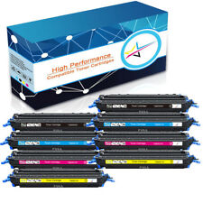 8x Color Toner Set For HP LaserJet 1600 2600 2600n 2605 2605dtn Q6000A 124A