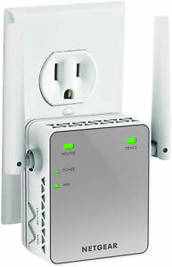 Netgear WiFi Range Extender Booster Antenna Wireless Network Signal Boost White