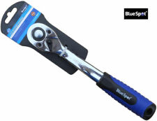 "Blue Spot Tools - 1/2"" Soft Grip Ratchet 72 Teeth Quick Release 02014"