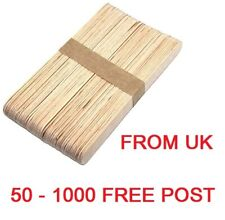 More details for xl wooden plant marker sticks seed labels seedling tags enviromentally friendly