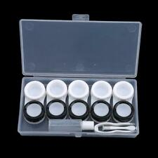 Contact Lens Case Box Holder Storage Container Kit Set Solution Accessories SS3