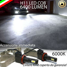 FULL LED H11 FORD FOCUS MK2 FENDINEBBIA CANBUS 6400 LUMEN 6000K NO ERROR