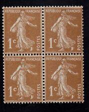 N°:277B -Semeuse - Bloc de quatre  - neuf**- qualité luxe fraîcheur postale !