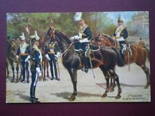 POSTCARD HARRY PAYNE 17TH LANCERS - TELLING OFF FOR ROAD DUTY