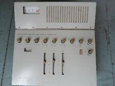 Vintage Analog Audio Mixer lorenz  rg495 Germany