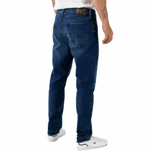 DIESEL LARKEE-BEEX R3L48 Blue  Mens Denim Jeans REGULAR TAPERED Size W32 RRP £17