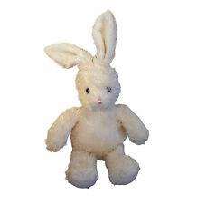 "Mary Meyer Bunny Rabbit 13"" Cream Beanie Plush Stuffed Animal Toy Easter"