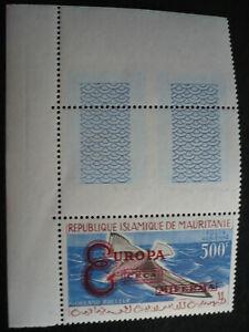 Europa 1961 - Mauritania Overprinted - Scott# C16