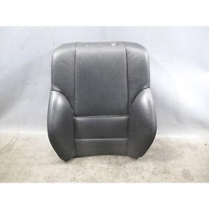 2000-2006 BMW 3-Series E46 Sport Seat Backrest Cushion Black Leather OEM