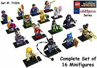 NEW  LEGO DC Comics Super Heroes 71026  Complete Set 16 Building Toy Minifigures