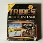 Complete In Box Tribes Action Pack Starsiege Windows Pc Computer Game Limited